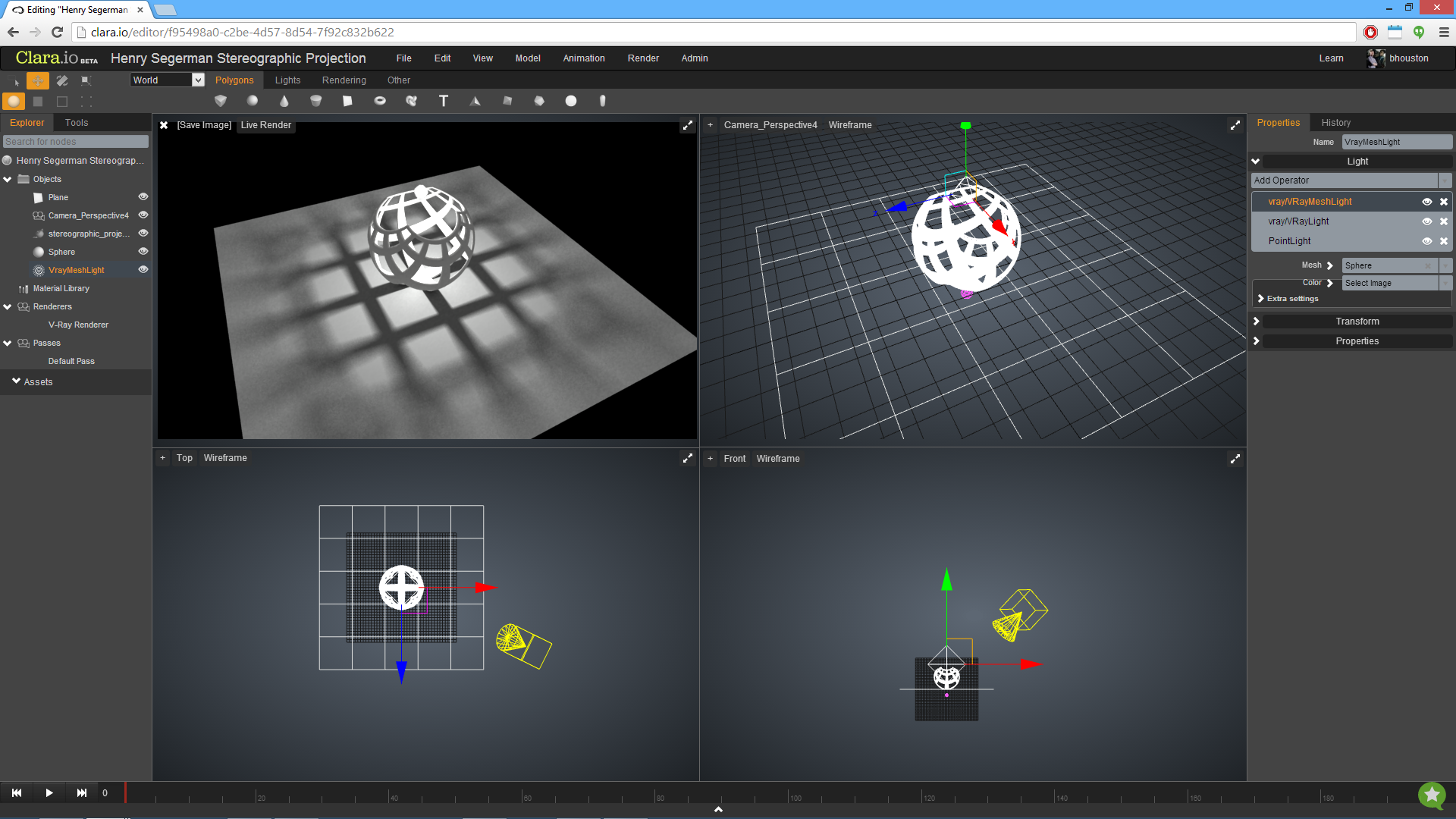 3d editor online polycount
